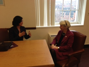Ellen Kief with Rep. Peisch